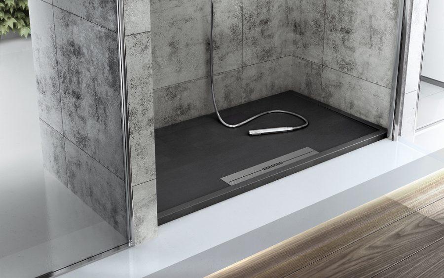 duschtasse bodeneben duschwanne ultraflach modell silex. Black Bedroom Furniture Sets. Home Design Ideas