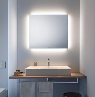 leuchtspiegel licht und spiegel von duravit breite 80 cm. Black Bedroom Furniture Sets. Home Design Ideas