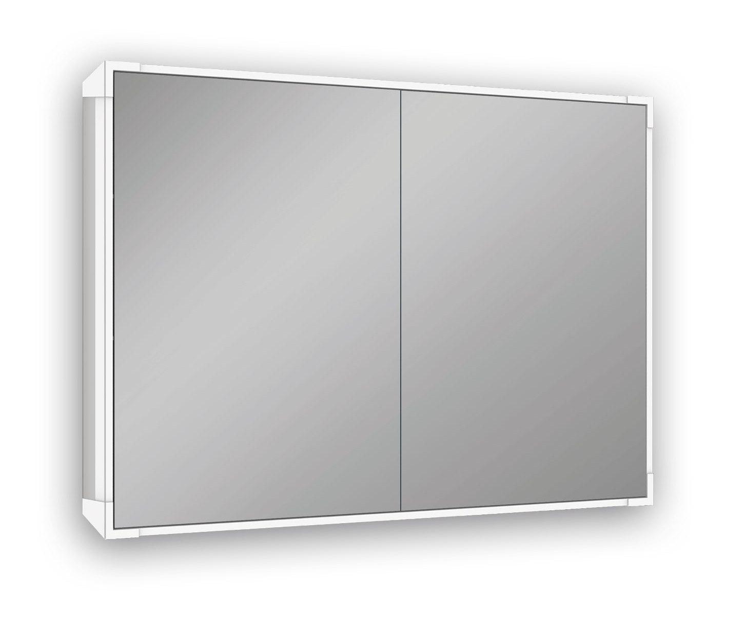 Schneider LED-Spiegelschrank A-Line. B = 60 2-Türig; By EdlesBad.ch ...