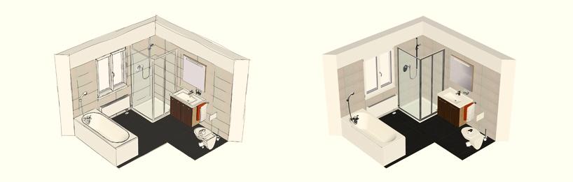 Bad Design; Planen Sie ihr Bad mit unserem Badplaner; 3D ...