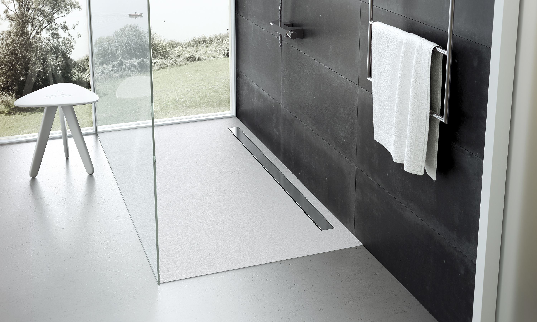 flexible duschtasse, flexible duschwanne; flexibler duschboden; elax
