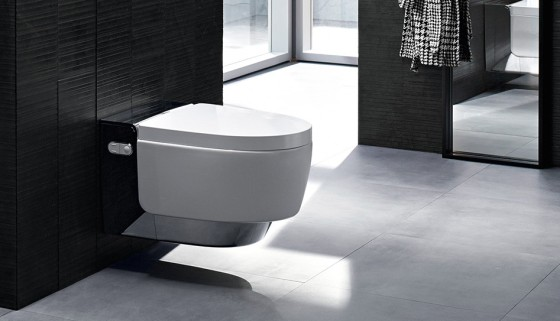 geberit aqua clean dusch wc mera dusch wc by. Black Bedroom Furniture Sets. Home Design Ideas