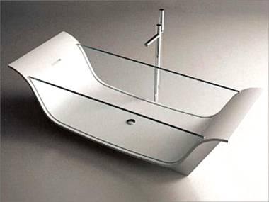 harmony badewanne aus glas restpostenwanne. Black Bedroom Furniture Sets. Home Design Ideas