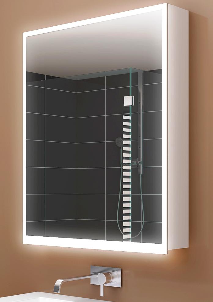 Spiegelschrank Illuminato von Keller Breite 150 cm, 3-Türig ... | {Design spiegelschrank 71}