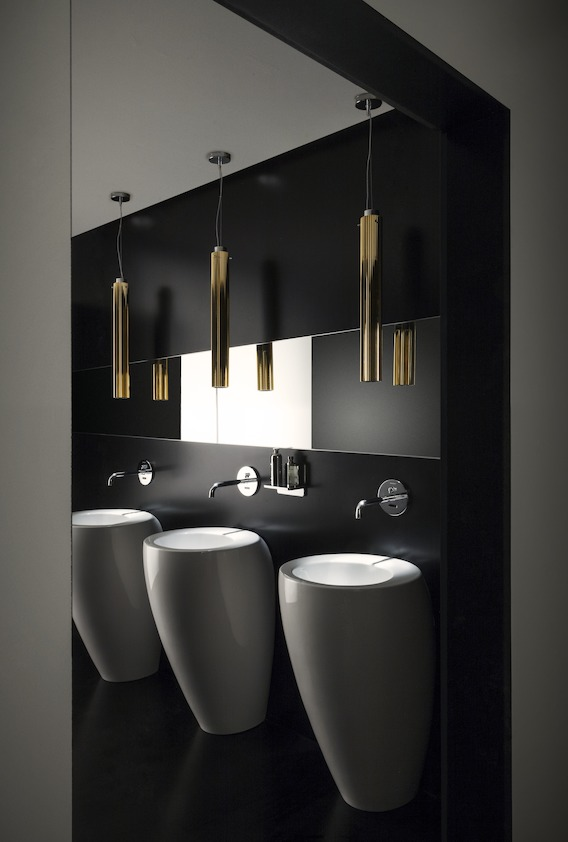 waschs ule bagno alessi one aus keramik weiss glanz. Black Bedroom Furniture Sets. Home Design Ideas