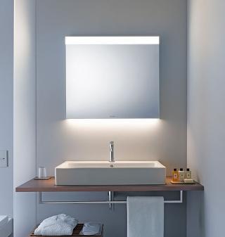 leuchtspiegel licht und spiegel von duravit b 120 cm. Black Bedroom Furniture Sets. Home Design Ideas