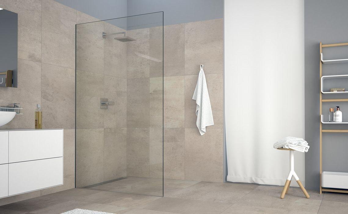 koralle x80 free mit keilschiene die duschtrennwand von heute von edles bad. Black Bedroom Furniture Sets. Home Design Ideas