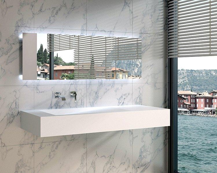 wandh ngendes design lavabo modell pw12b von gioiabagno in steinguss weiss matt oder weiss glanz. Black Bedroom Furniture Sets. Home Design Ideas