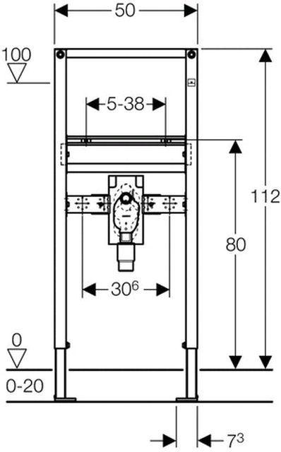 Fliesen Franke geberit duofix montageelement für waschtische mit up siphon und up mischer 112 cm edlesbad ch