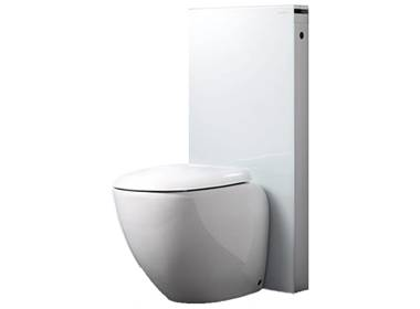 geberit monolith f r stand wc in weiss h 101. Black Bedroom Furniture Sets. Home Design Ideas