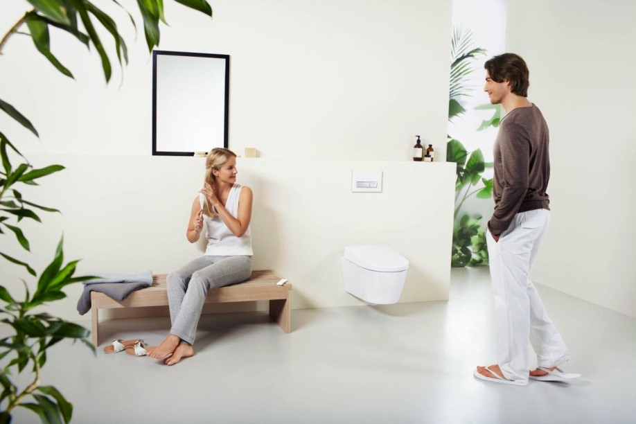 geberit aquaclean sela dusch wc komplettanlage. Black Bedroom Furniture Sets. Home Design Ideas