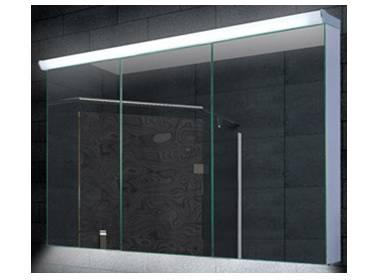 spiegelschrank led breite 160 cm dreit rig. Black Bedroom Furniture Sets. Home Design Ideas
