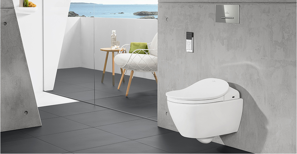 ViClean Dusch WC, Dusch-WC ViClean by Edlesbad.ch - edlesbad.ch